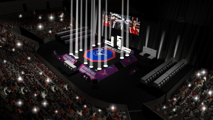 Organisers of this year's World Taekwondo Championships in Manchester have revealed images of the venue set-up for the first time ©World Taekwondo