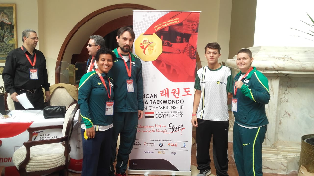 Brazil's new Para-taekwondo star Nathan Torquato has revealed he is still training at the same gym he first entered at three-years-old ©CPB