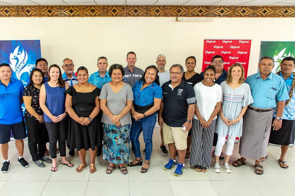 Chefs de Mission visited Apia last week to inspect facilities due to be used at the Pacific Games ©Samoa 2019/Facebook