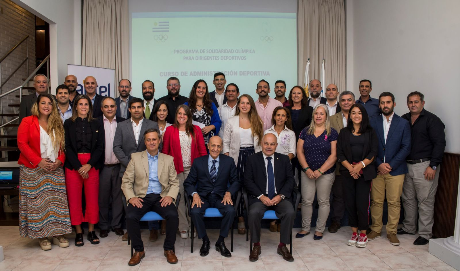 Uruguayan Olympic Committee host sports management course over four days