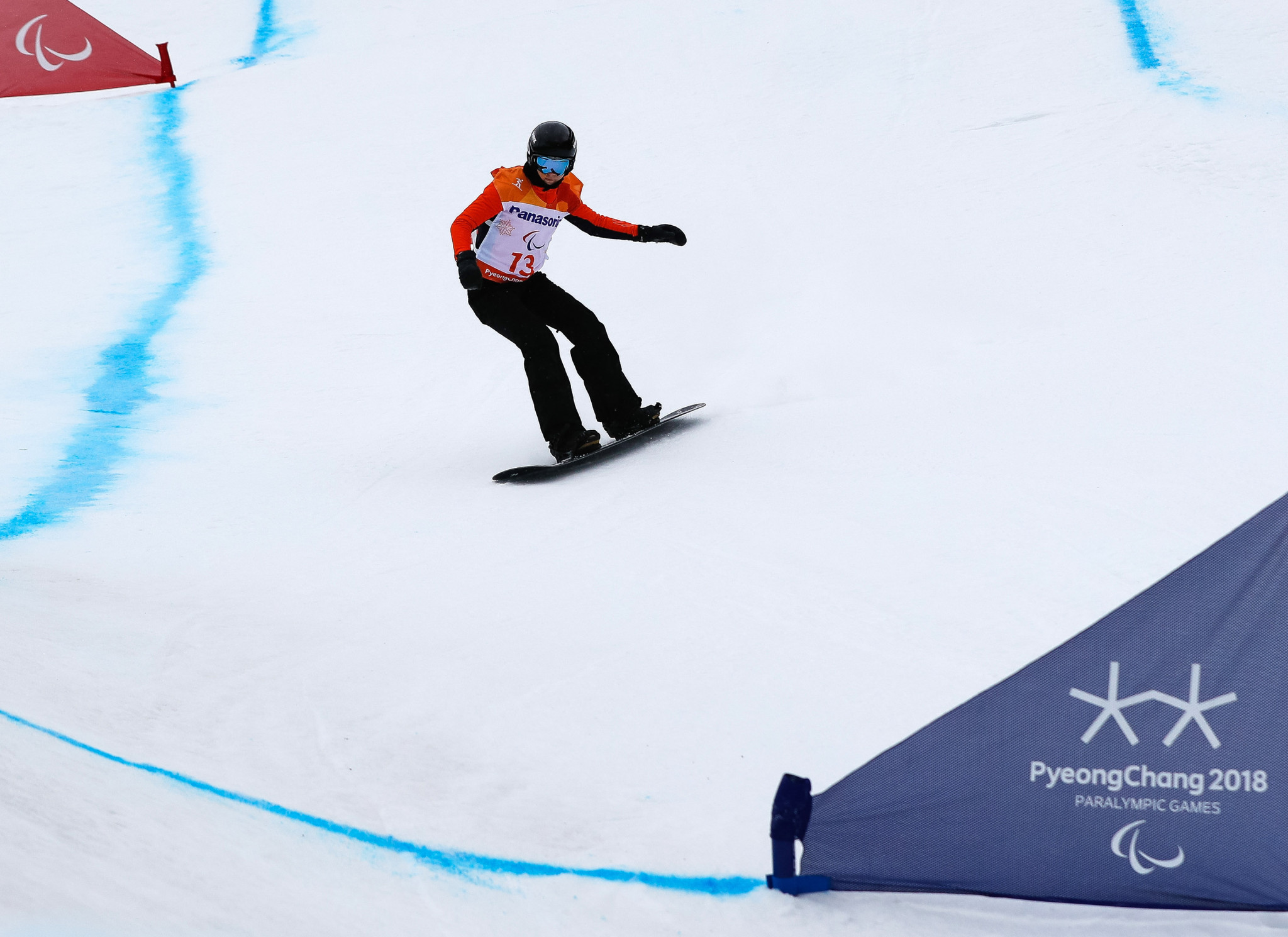 Lisa Bunschoten of The Netherlands continued her impressive form with victory in the women's SB-LL2 event ©Getty Images