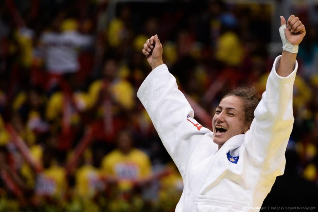 Judoka Majlinda Kelmendi will lead Kosovo's medal challenge at Rio 2016 ©Getty Images