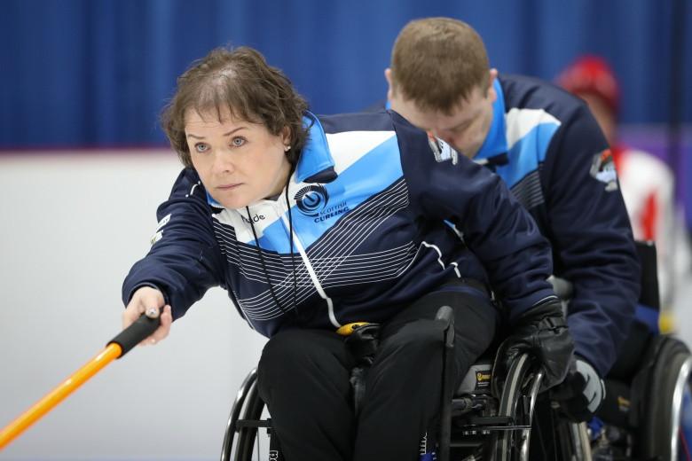 Hosts Scotland won their first match at the third attempt ©WCF