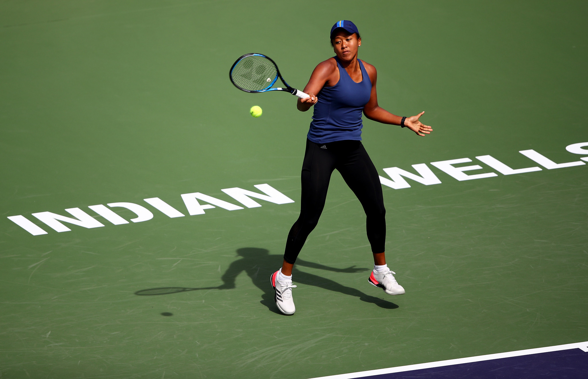 Women's world number one Naomi Osaka is also in action at Indian Wells ©Getty Images
