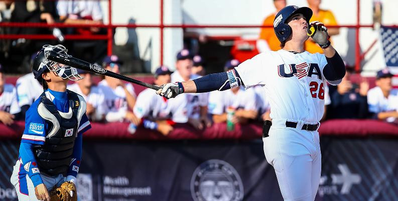 The United States have won the last four editions of the WBSC Under-18 World Cup, including at Thunder Bay in Canada two years ago and will be aiming for a fifth title at Gijang in South Korea later this year ©USA Baseball