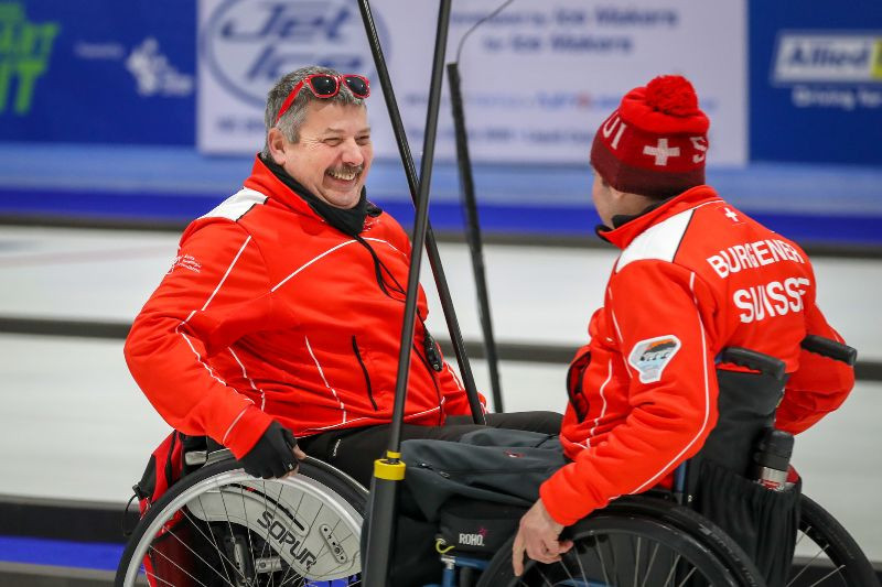 Switzerland and defending champions Norway riding high at World Wheelchair Curling Championships in Stirliing