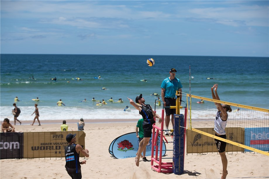 The FIVB Beach Volleyball World Tour in Sydney will take place on Manly Beach ©FIVB