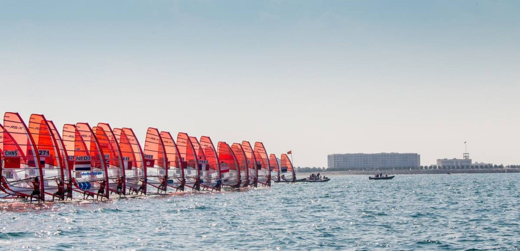 Poland's Bialecka takes lead in women's gold fleet at RS:X World Windsurfing Championships
