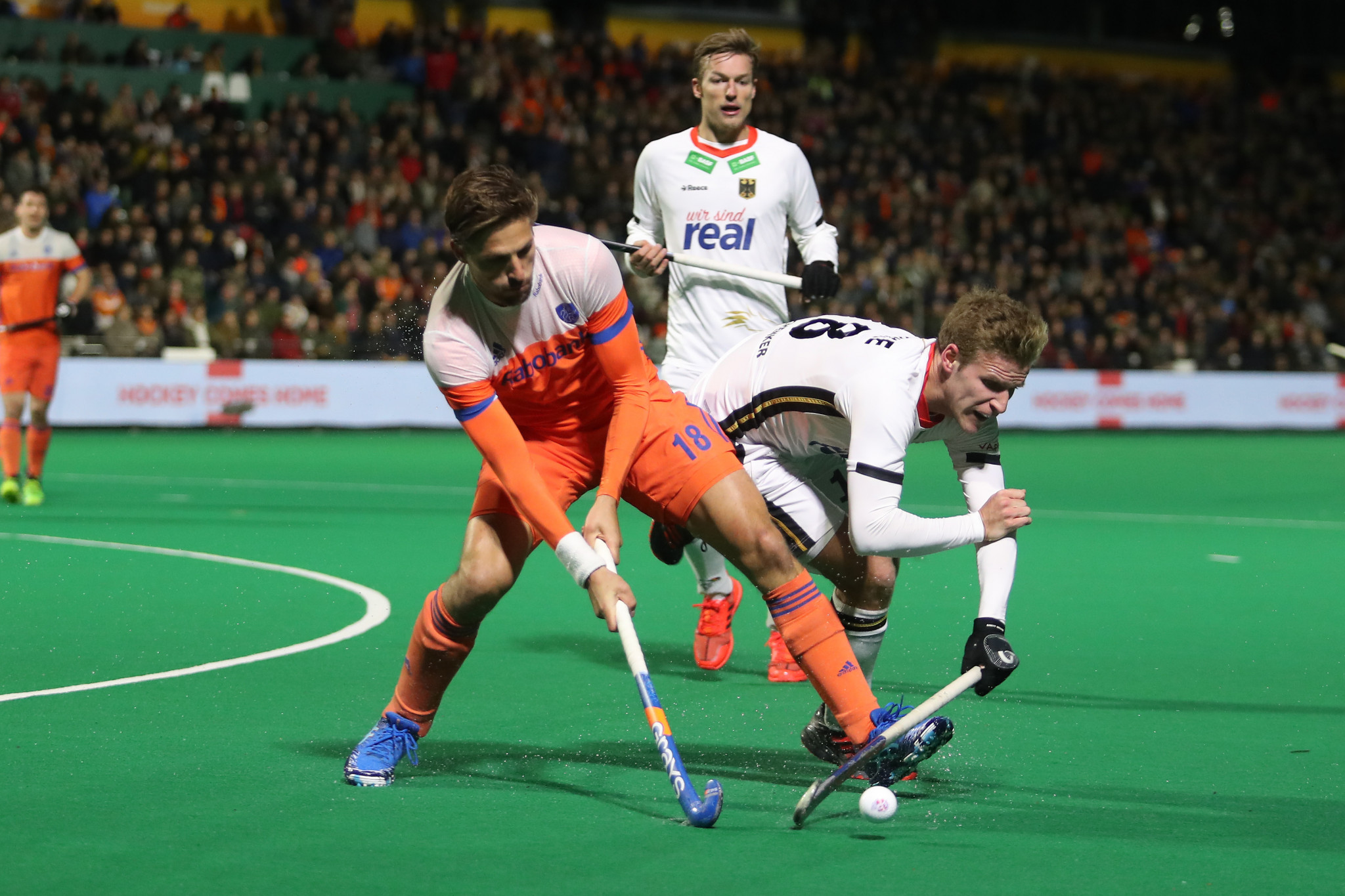 Germany withheld severe Dutch pressure to earn a 1-0 win in Rotterdam ©Getty Images