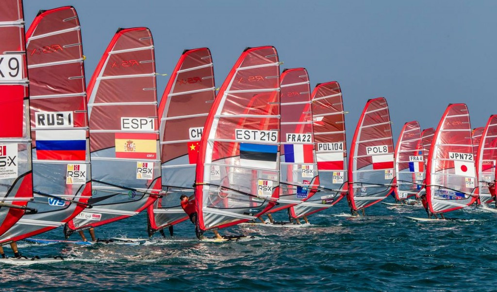 France's Pierre Le Coq and Poland's Malgorzata Bialecka lead the men's and women's gold fleets after the third day of action