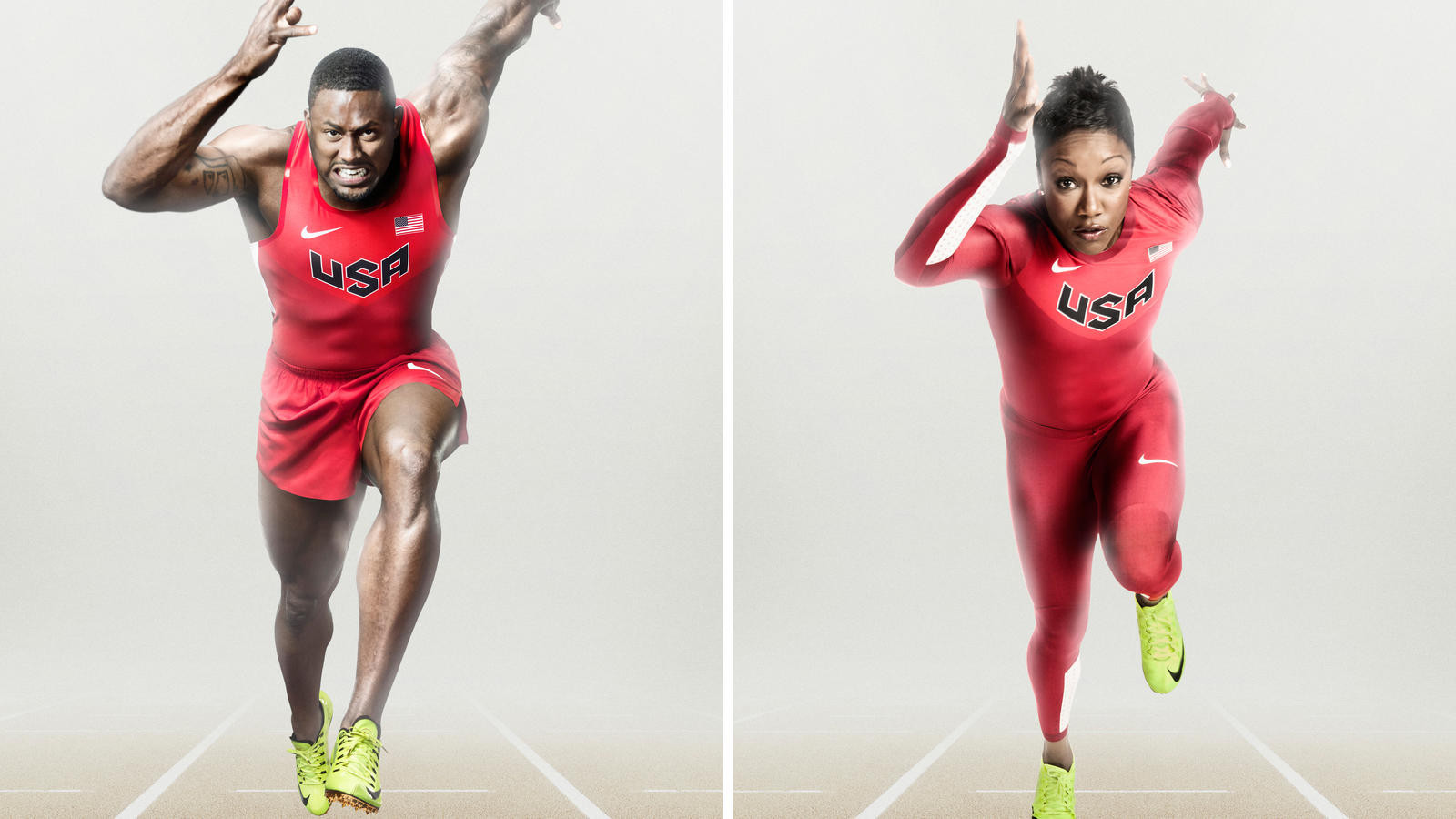 Nike is already a sponsor of USA Track & Field until 2040 ©Nike