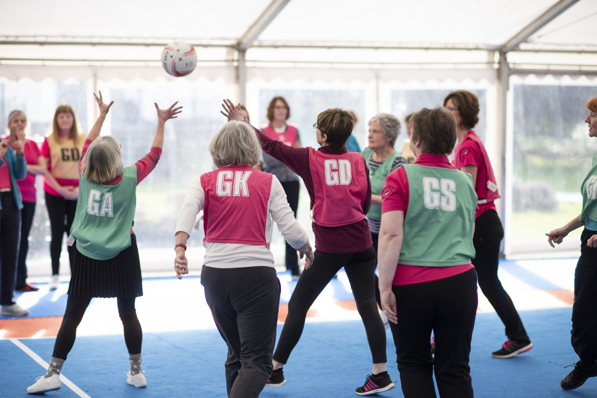 England Netball celebrate partnership with National Federation of Women's Institutes