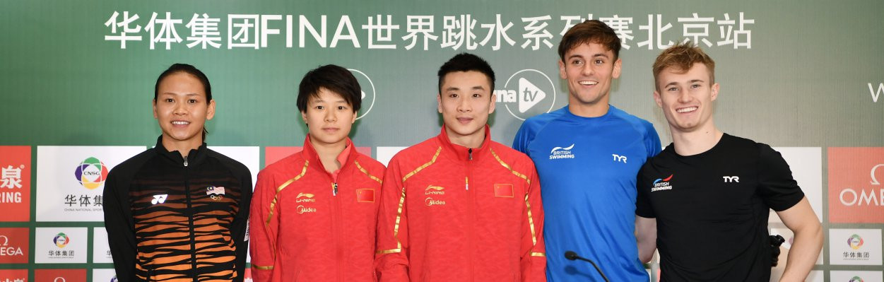 China aims to make golden farewell to Water Cube at FINA Diving World Series in Beijing