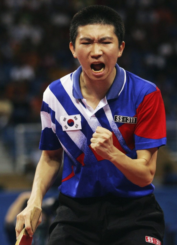 South Korea's Athens 2004 table tennis champion Ryu Seung Min is another contender ©Getty Images