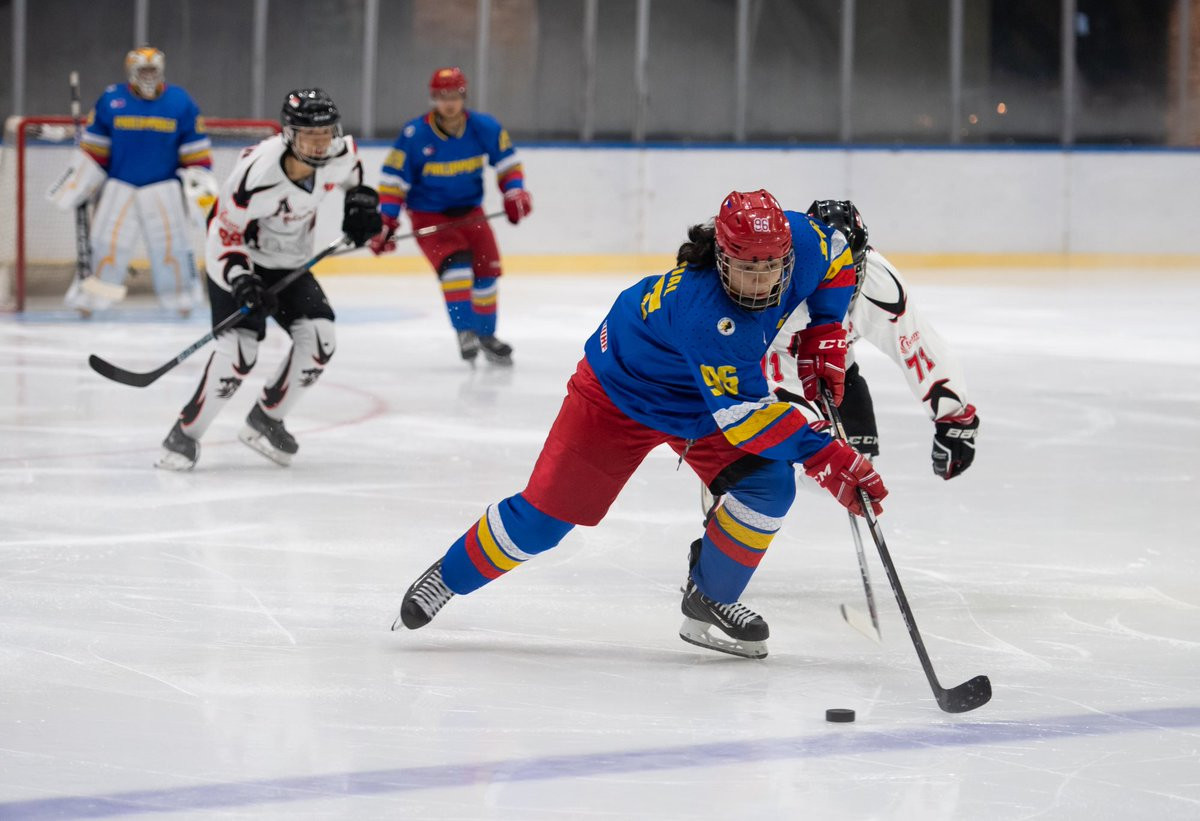 Philippines beat holders Mongolia to top Group A at Ice Hockey Challenge Cup of Asia