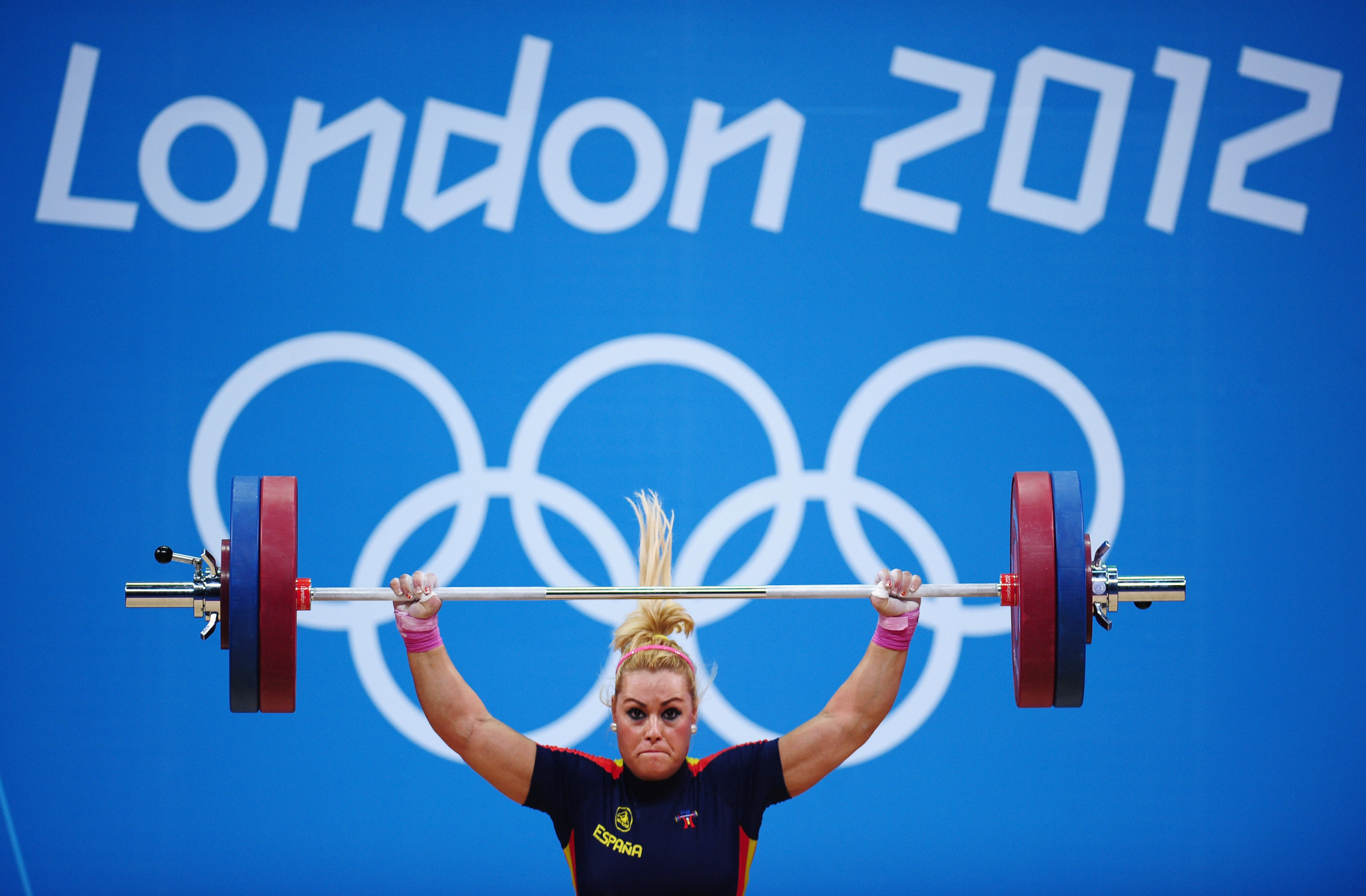 Lidia Valentín had originally finished fourth in the women's 75kg category at London 2012 ©Getty Images