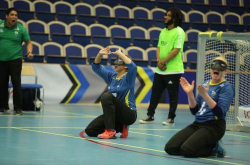 Goalball has a new athlete representative in Brazilian Paralympian Ana Carolina Duarte ©IBSA