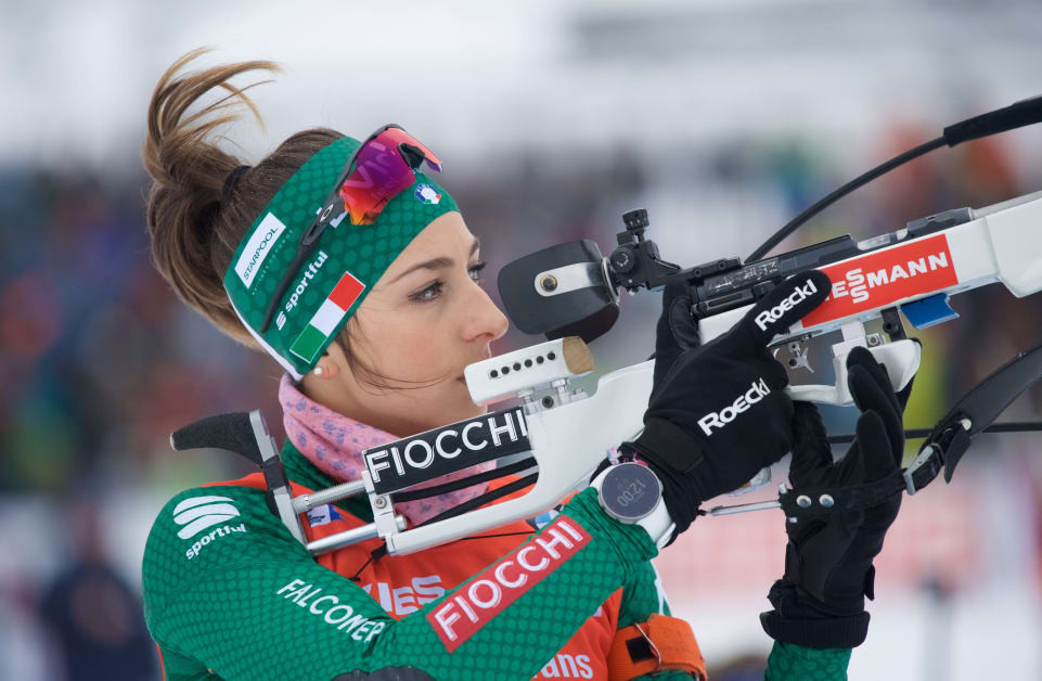 Italy's Lisa Vittozzi is among the leading names to watch out for in women's competition ©IBU