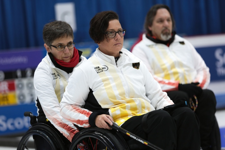 Germans turn the tide in World Wheelchair Curling Championships in Stirling