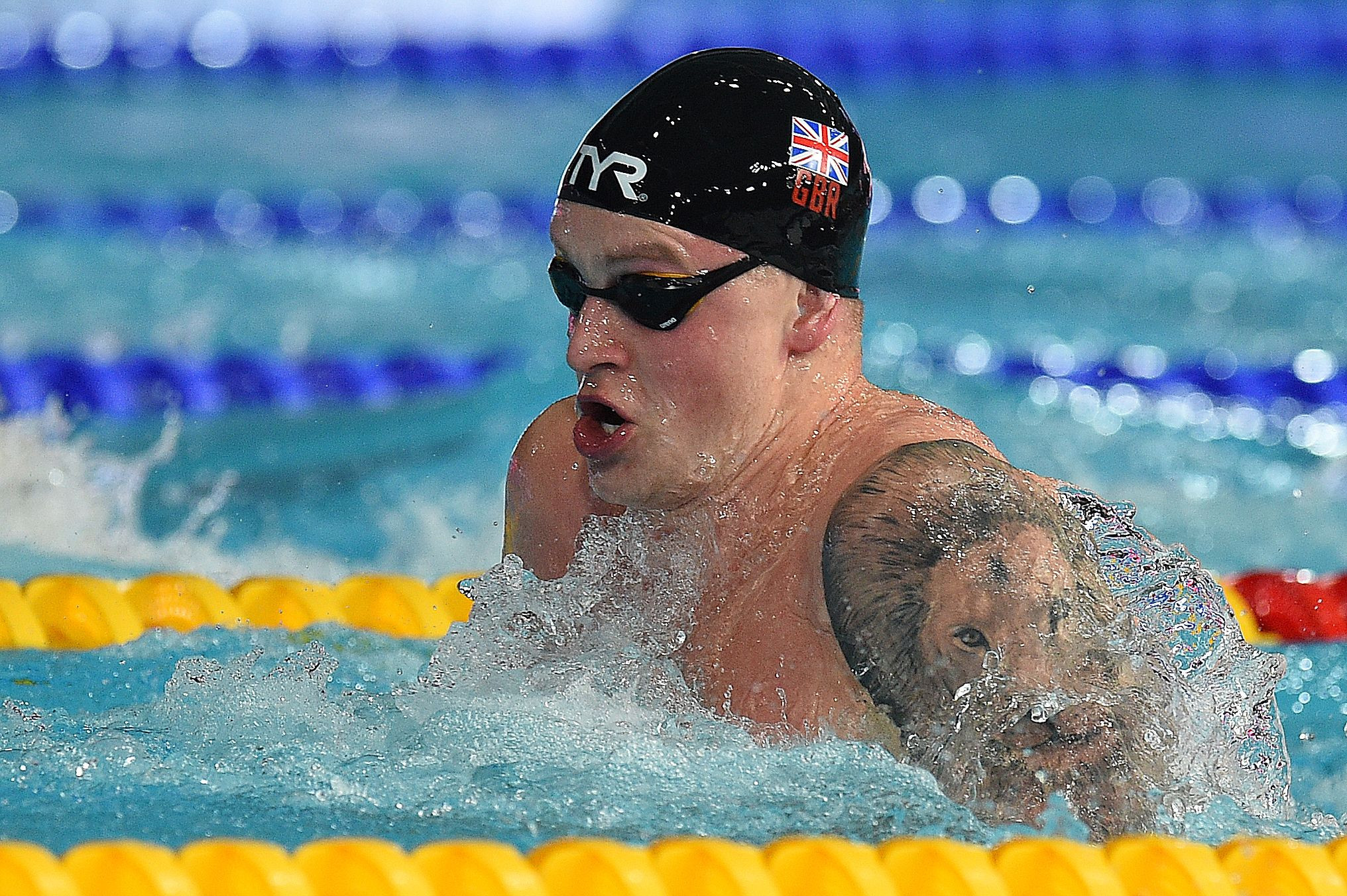 "Adam Peaty said the event was needed to ""keep people interested"" ©Getty Images"
