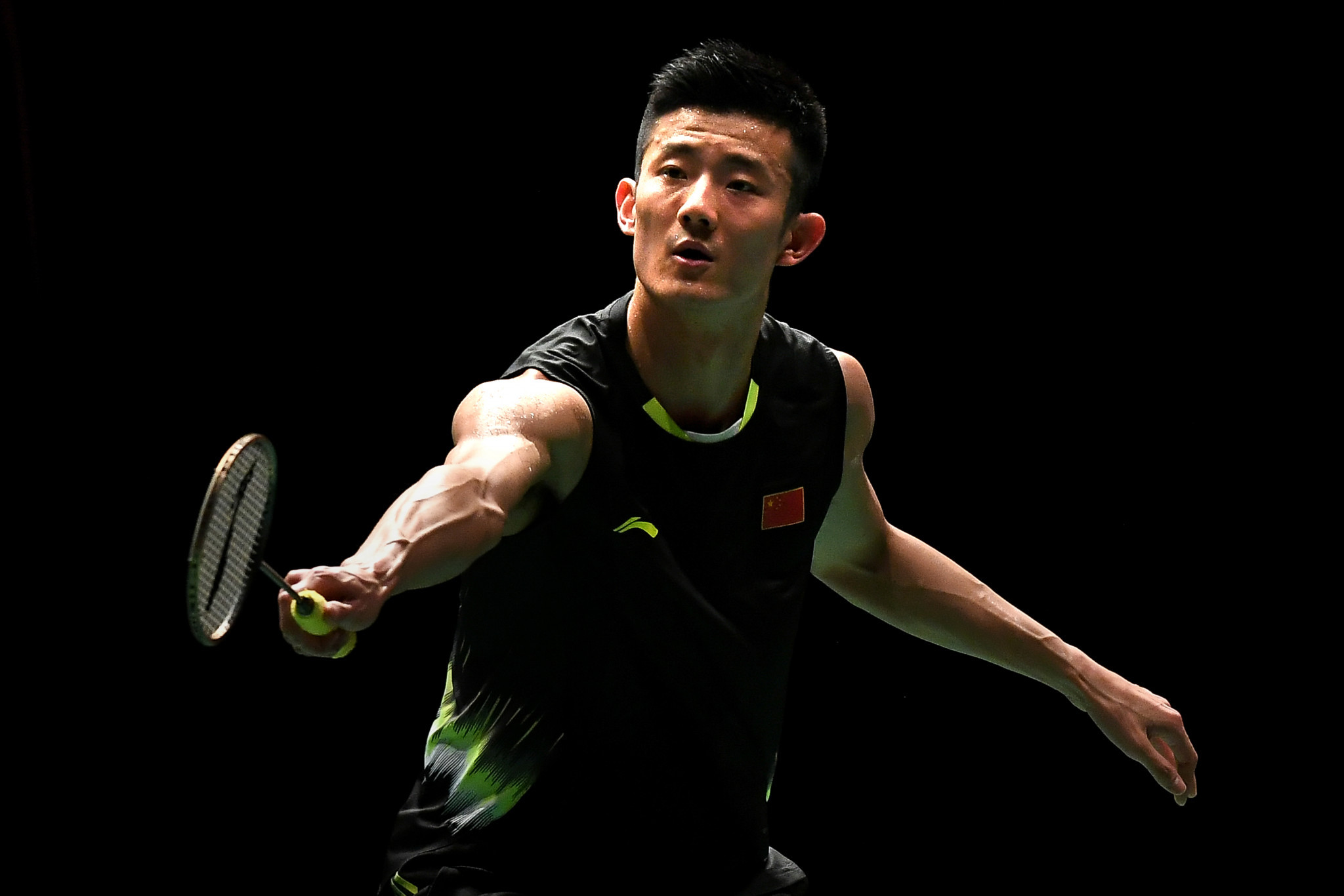 Chen Long was knocked out on day one in Birmingham ©Getty Images
