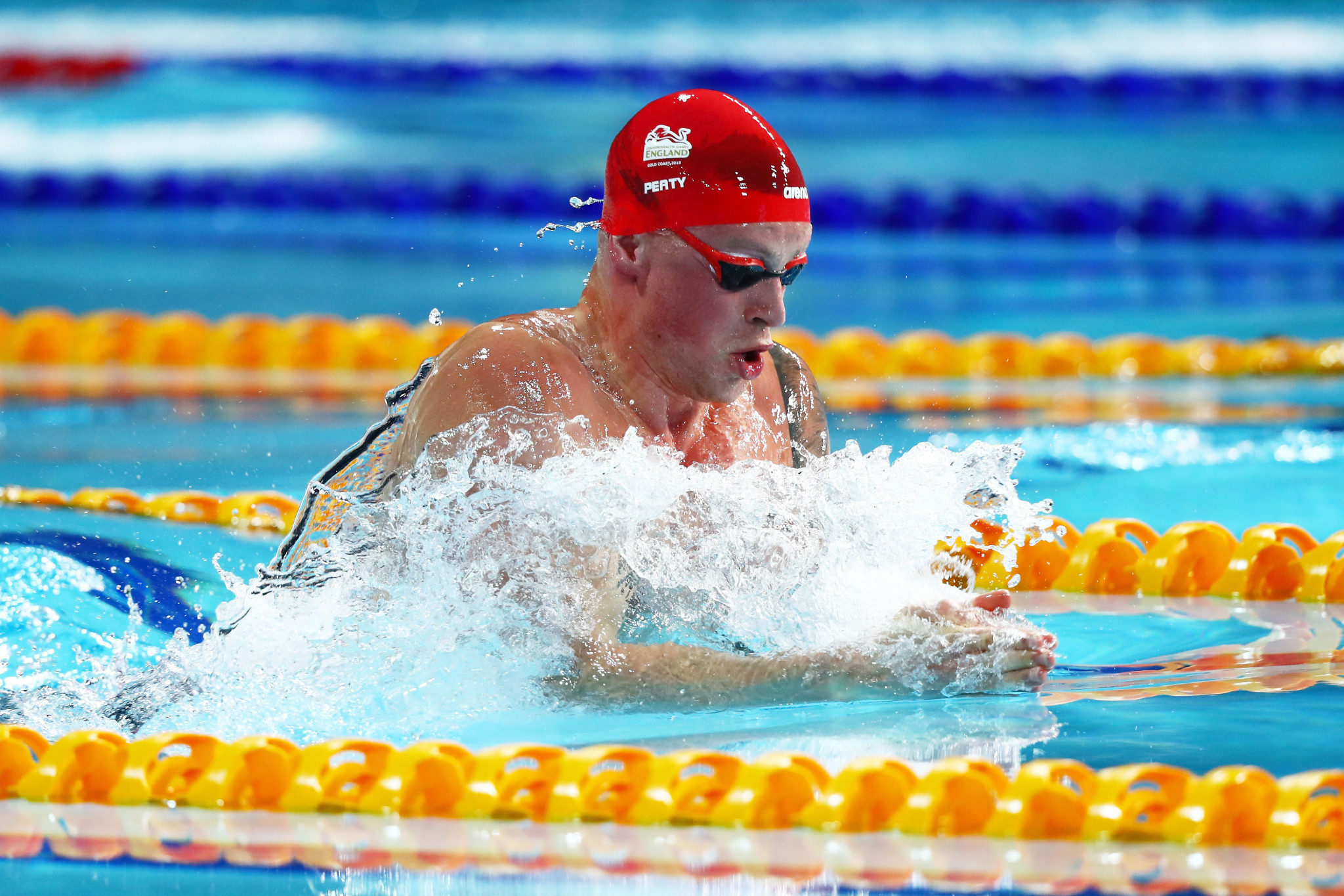 Adam Peaty has signed on as one of the star names of the International Swimming League ©Getty Images