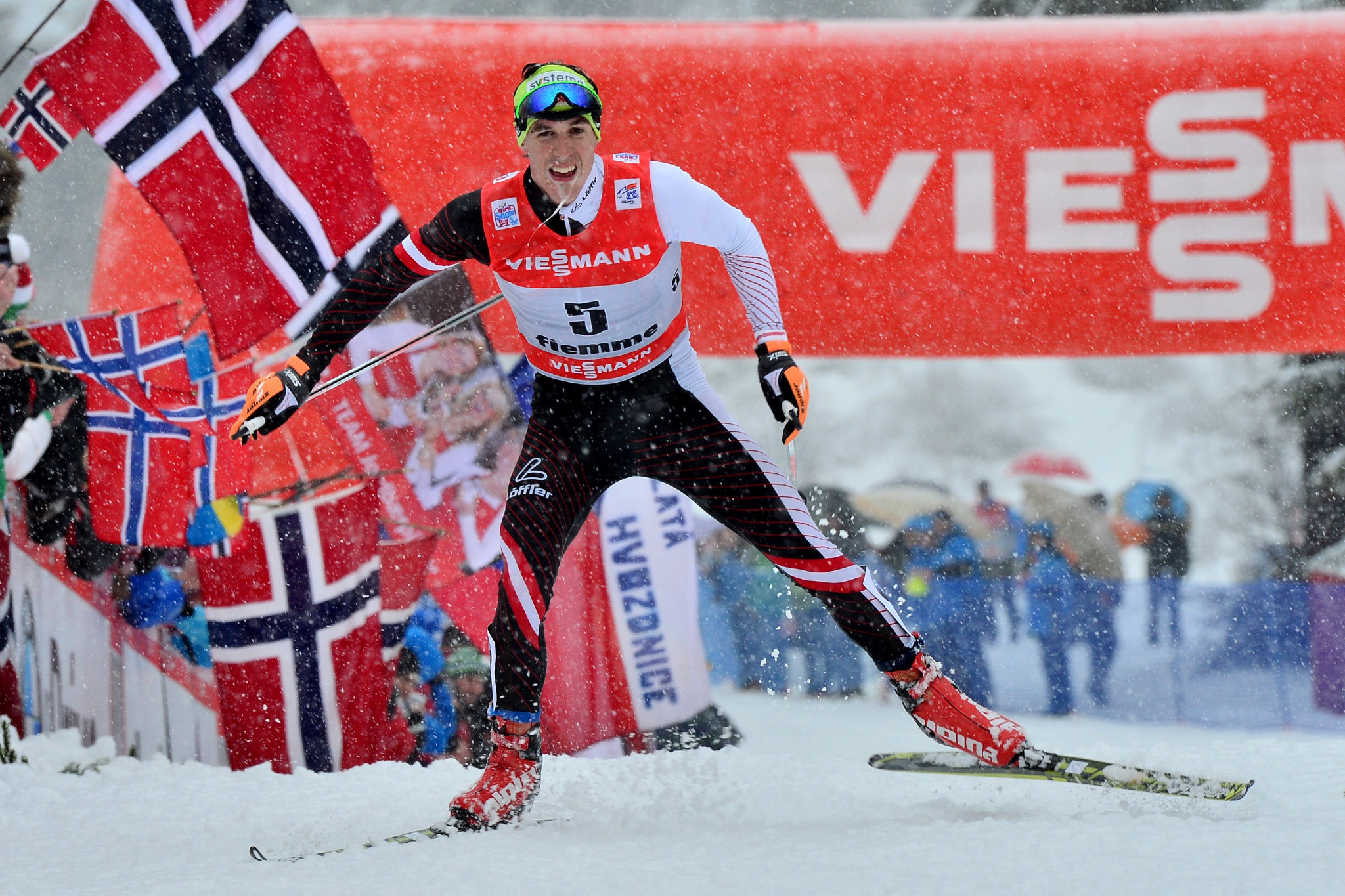 Austrian cross-country skier Johannes Dürr, who admitted to recent doping, has been released from custody ©Getty Images