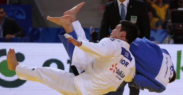 Canada's Antoine Valois-Fortier will continue his comeback from a lengthy injury lay-off in Marrakech ©IJF
