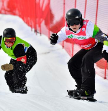 Bunschoten takes third gold at World Para Snowboard World Cup in La Molina