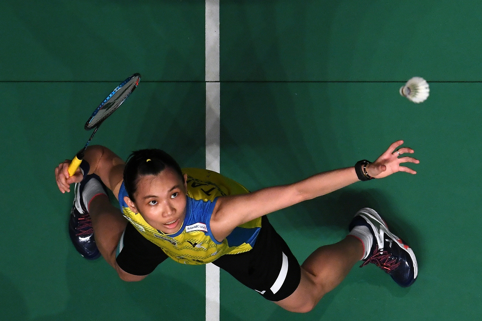 Top seed Tai Tzu-ying is through to the women's singles quarter-finals ©Getty Images