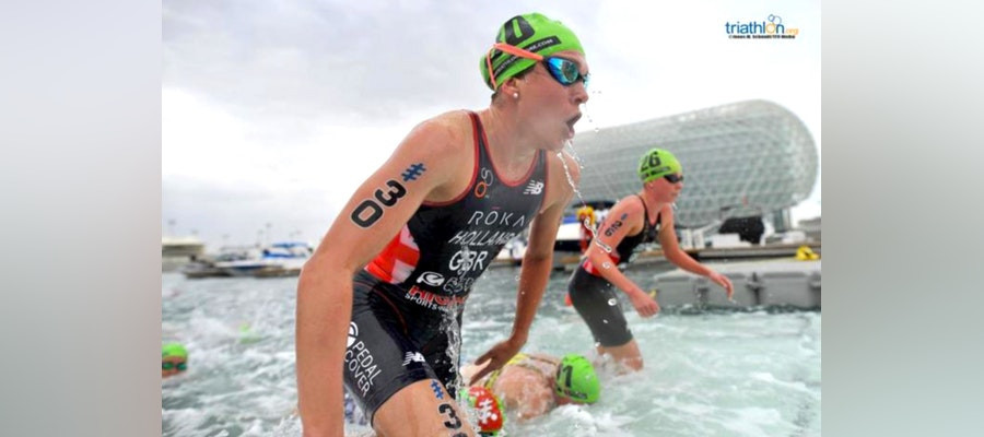 Holland and Mola start defence of world titles as 2019 World Triathlon Series starts in Abu Dhabi