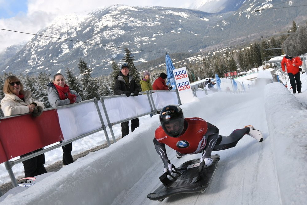 Dukurs and Hermann lead at halfway stage of skeleton events at IBSF World Championships