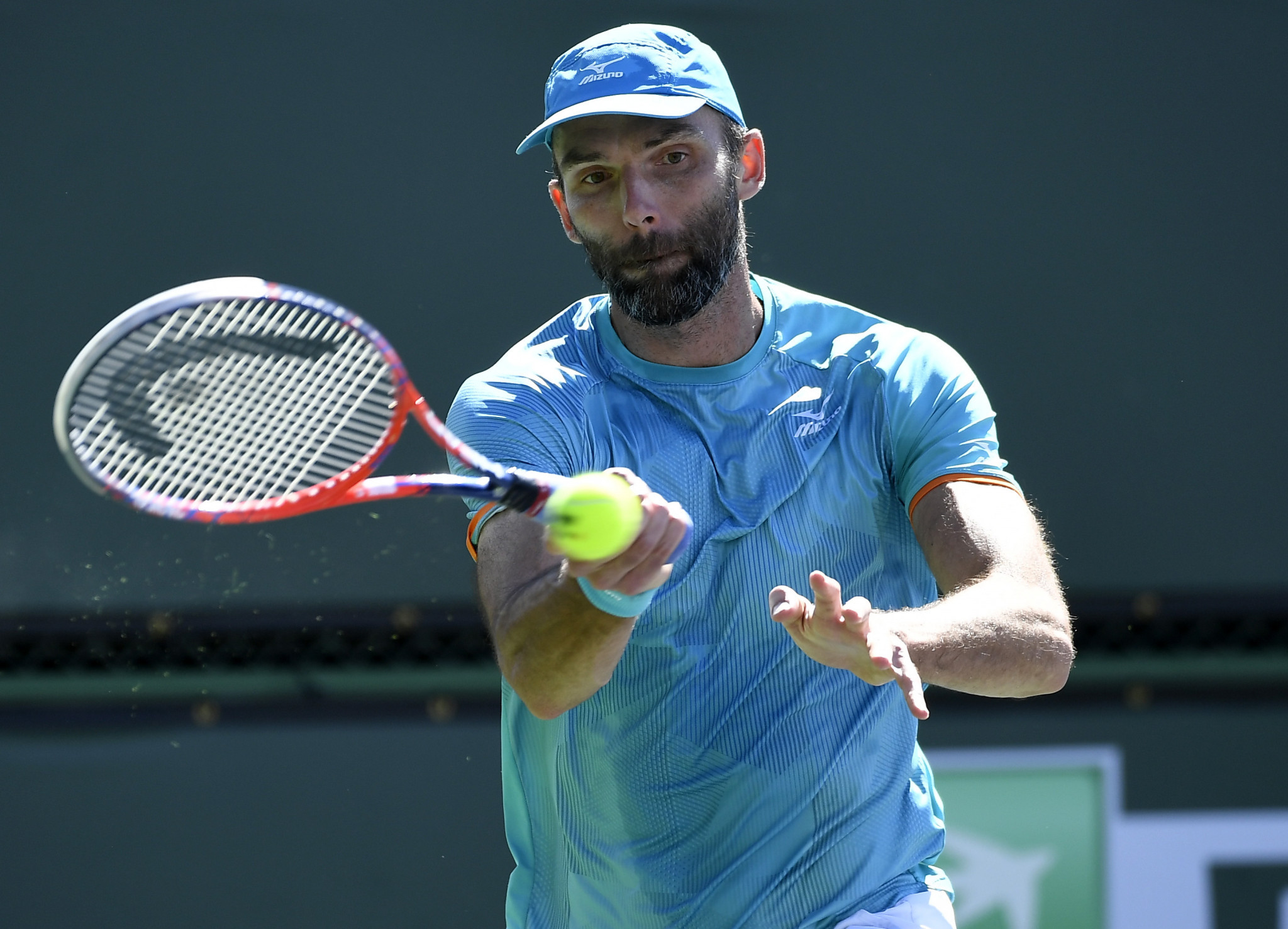 Karlović claims historic win as men's Indian Wells Masters gets underway