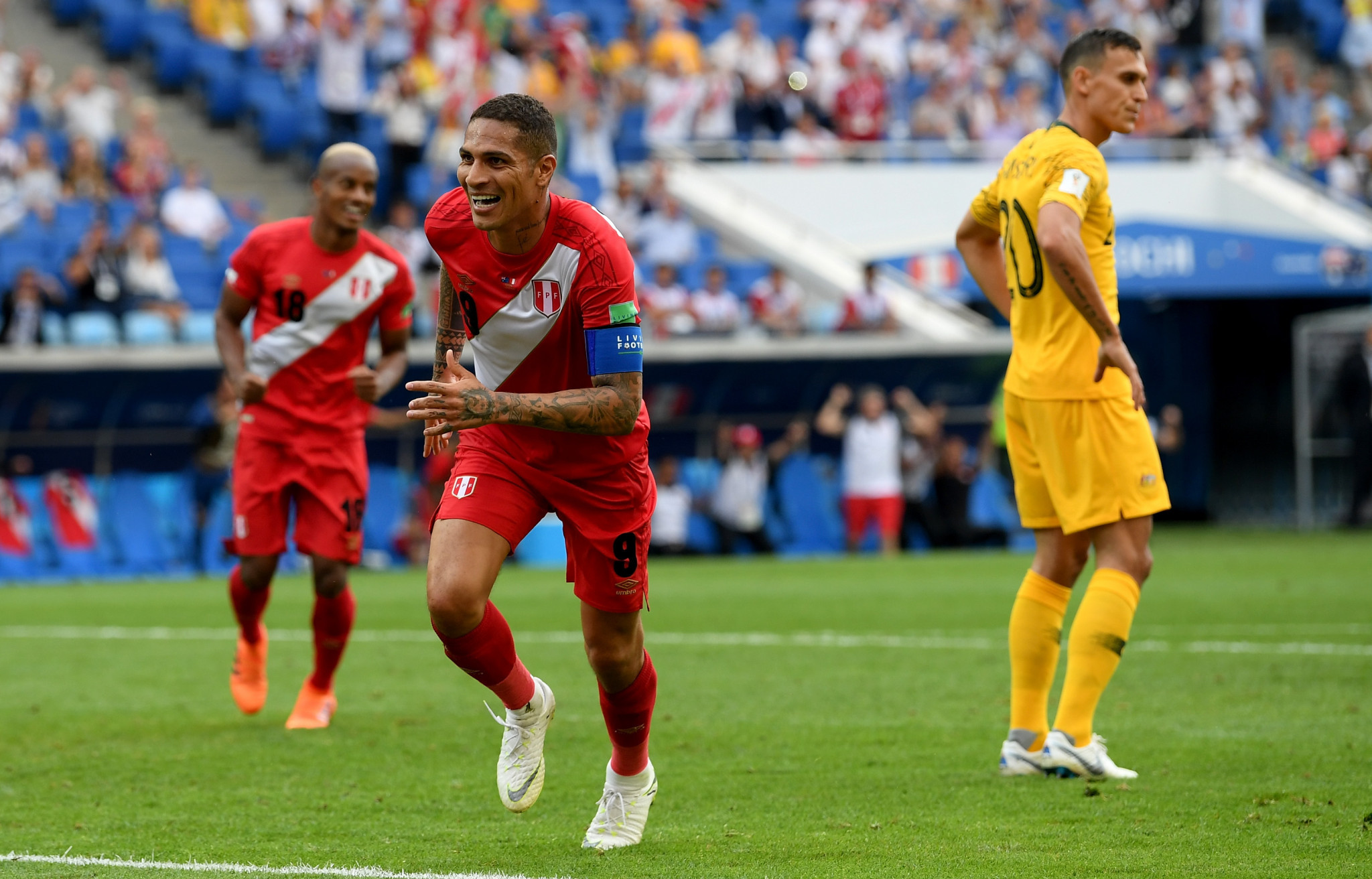 Paolo Guerrero will not be able to return for either club or country until early next month ©Getty Images