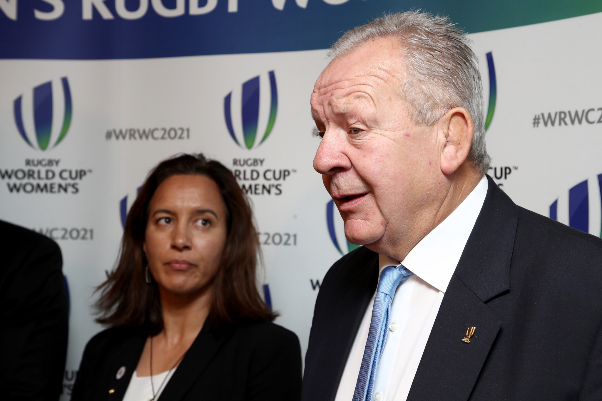 World Rugby chairman Sir Bill Beaumont congratulated the recipients of the scholarships ©Getty Images