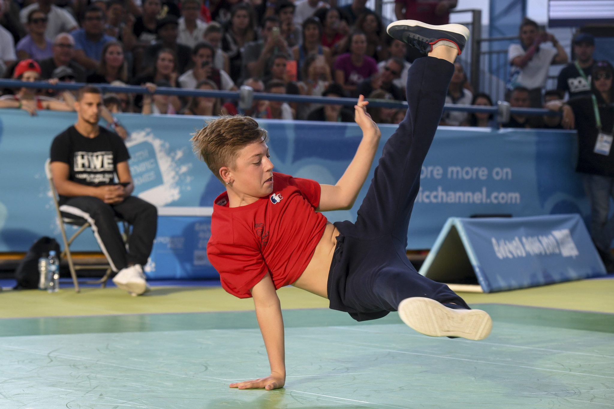 Breakdancing is in line for Paris 2024 after appearing at Buenos Aires 2018 ©Getty Images