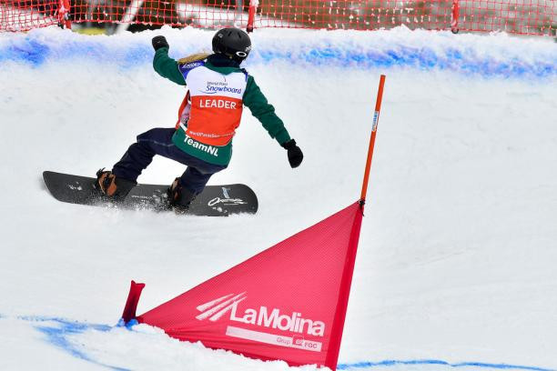Bunschoten makes it four golds at World Para Snowboard World Cup in La Molina