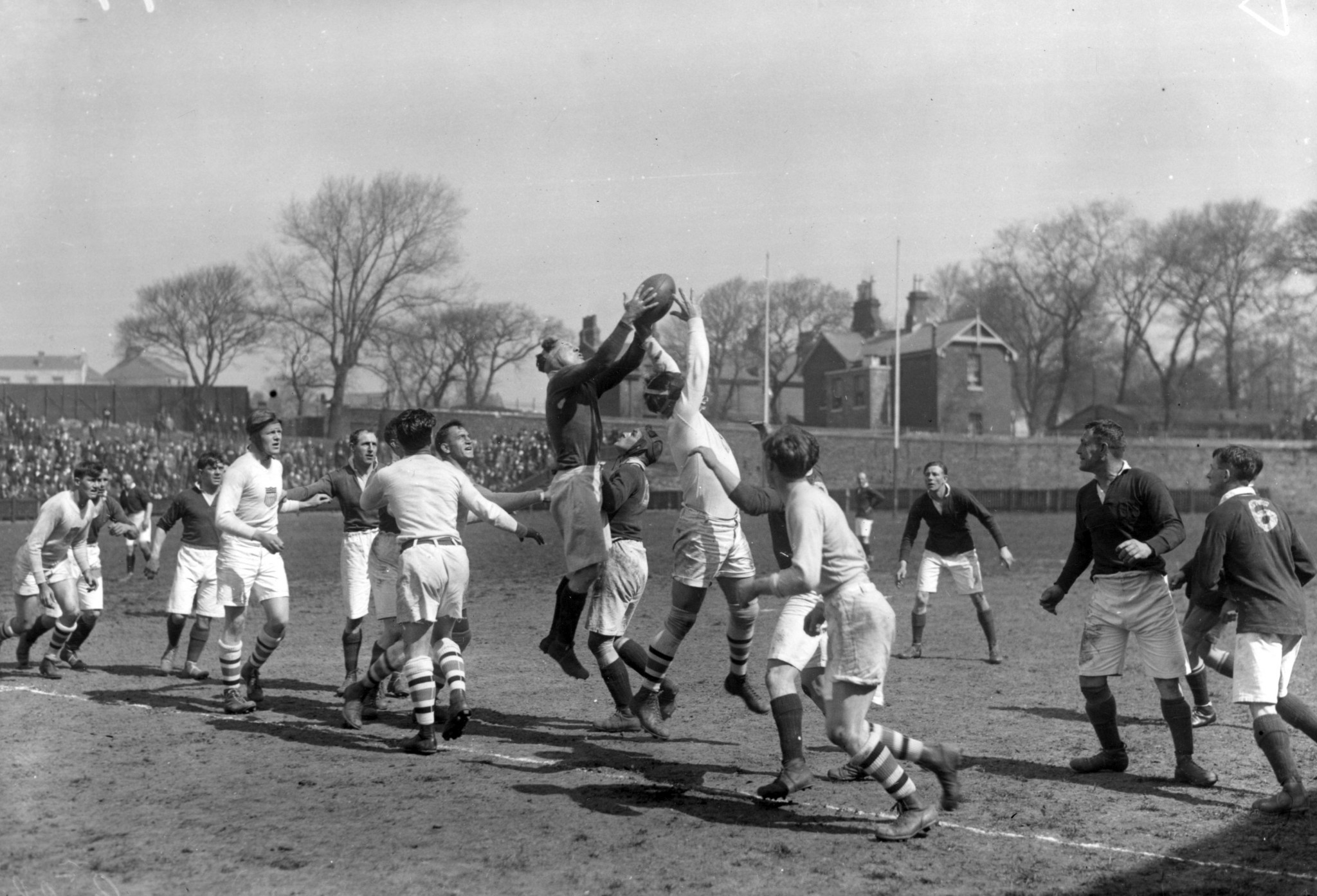 Rugby taking place at the Paris 1924 Olympic Games ©Getty Images