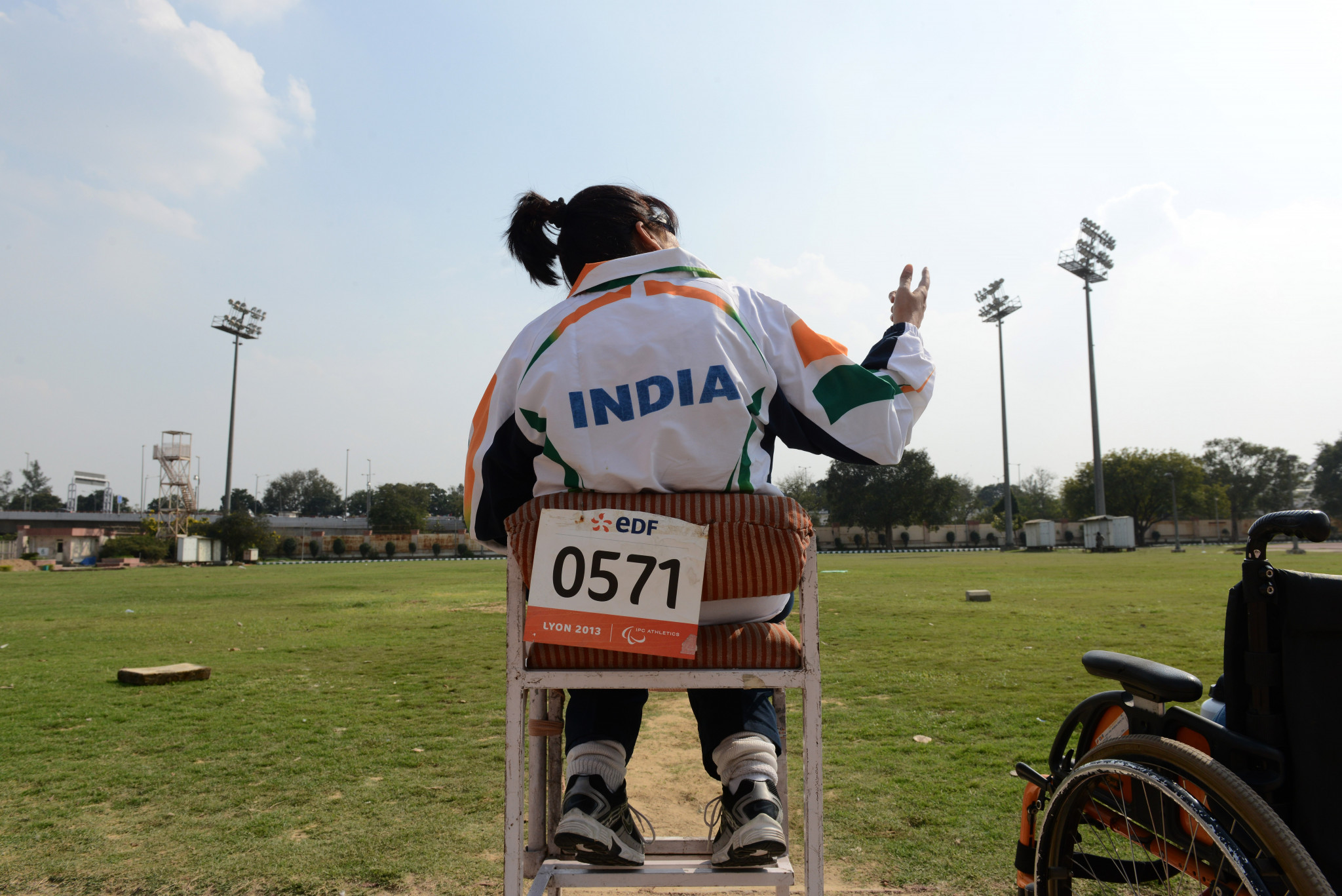 Deepa Malik became India's first female athlete to win a Paralympic medal at Rio 2016 ©Getty Images