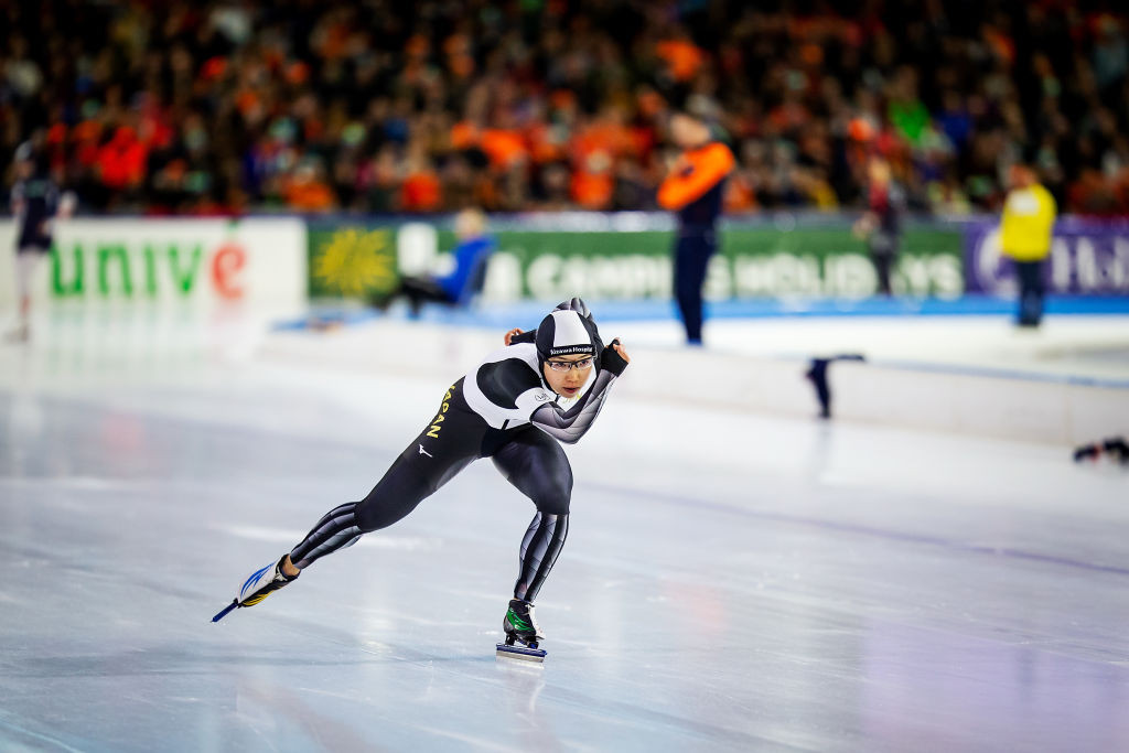 Records at risk in ISU World Cup Speed Skating Final on Salt Lake City's fast ice