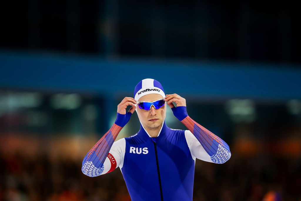 World record holder Pavel Kulizhnikov will be favourite to win an overall World Cup title over 500m this weekend in Salt Lake City ©ISU