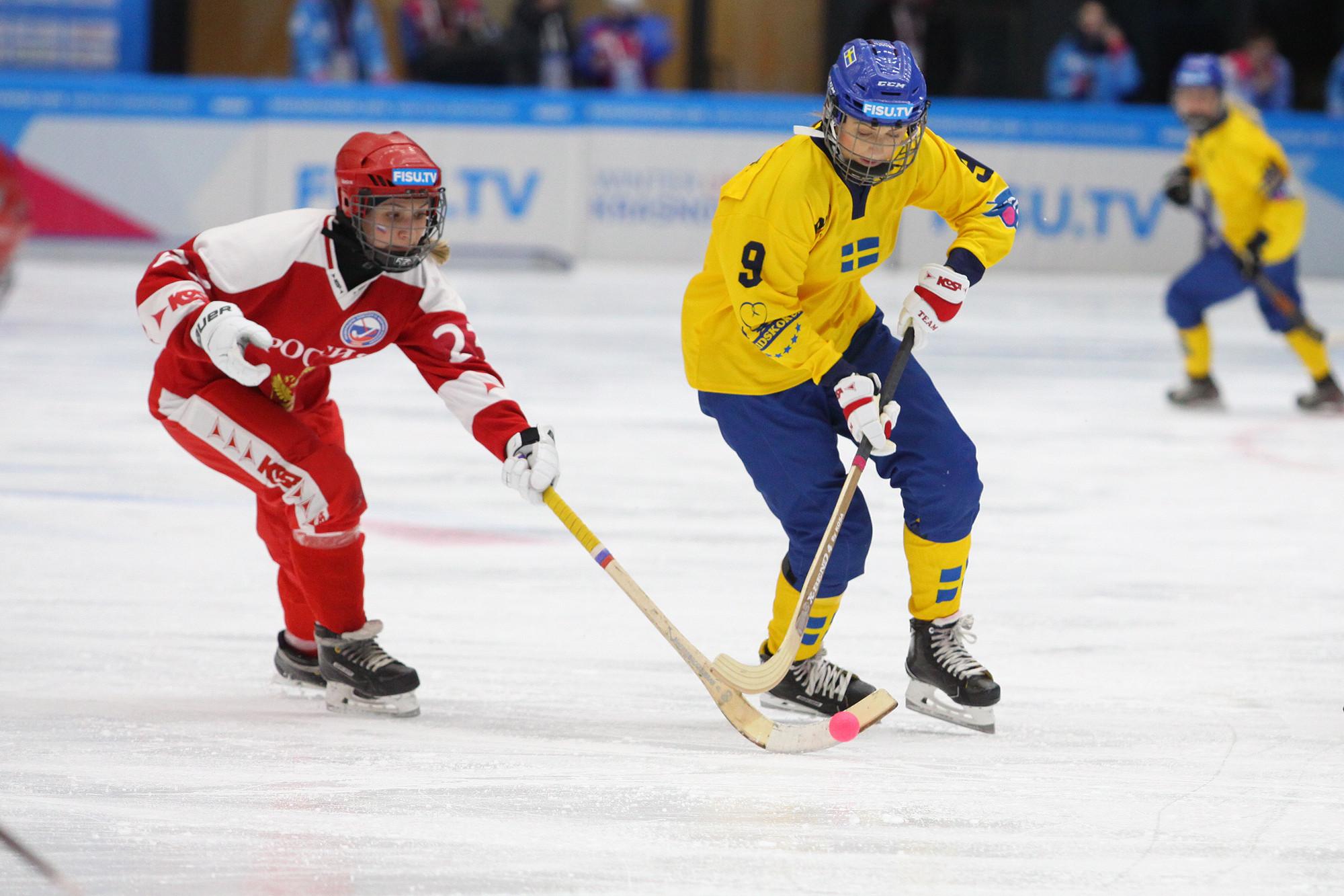 First Universiade bandy gold medal awarded to Sweden at Krasnoyarsk 2019