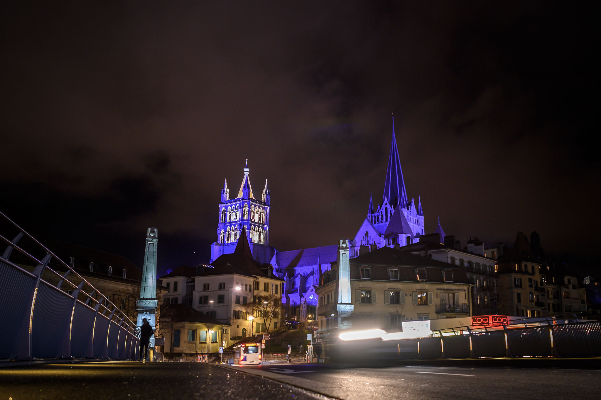 The majestic Lausanne Cathedral overlooks the city ©Getty Images