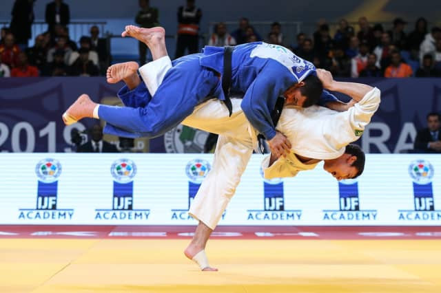 Sharafuddin Luftfillaev won one of two Uzbek golds today ©IJF