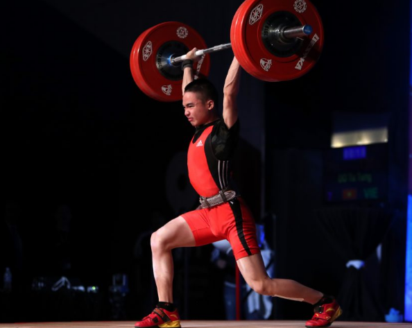 Tu Tung Do of Vietnam won a hat-trick of gold medals with three youth world records as the International Weightlifting Federation Youth World Championships began in Las Vegas ©IWF