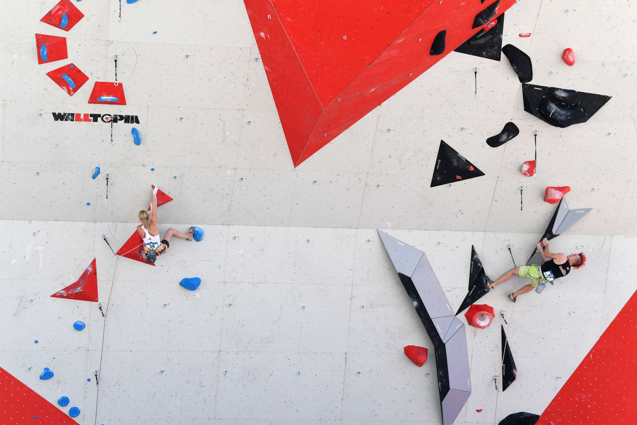 The test event in sport climbing has been pushed back by six months ©Getty Images