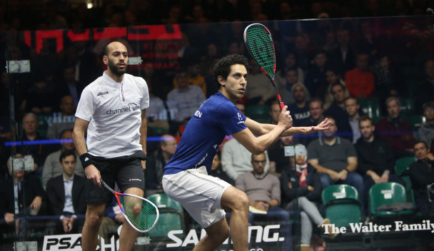 Tarek Momen will bid to go one better than the World Championships, where he lost in the final ©PSA