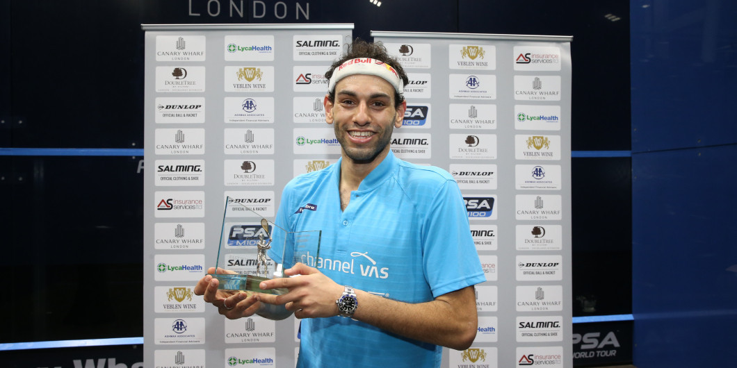 Elshorbagy out to banish World Championship demons at PSA Canary Wharf Classic