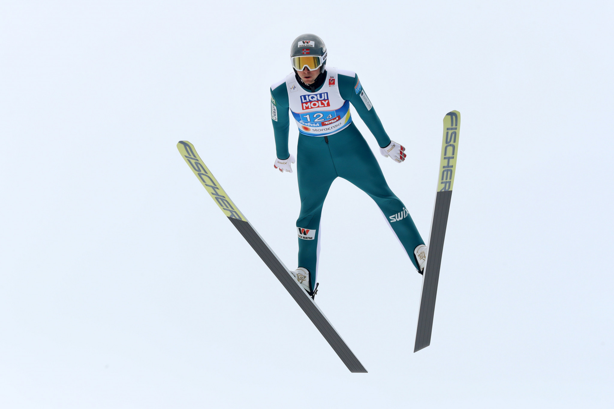 Riiber edges Herola in thrilling finish at FIS Nordic Combined World Cup in Oslo