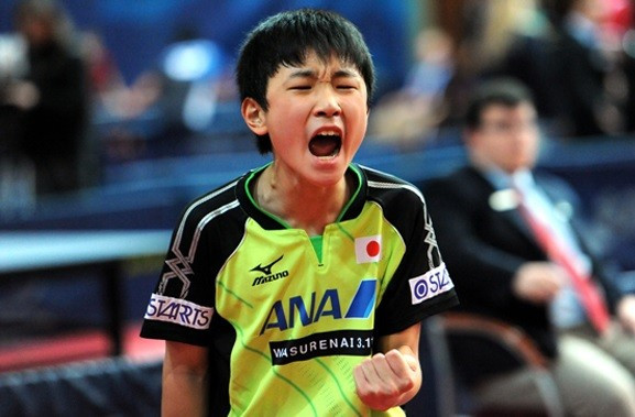 Japanese 12-year-old becomes youngest player to reach main draw of an ITTF World Tour event